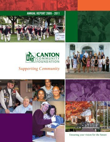Combined Annual Report 2009-2011 - Canton Community Foundation