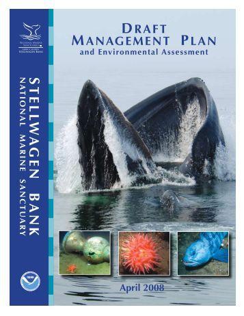 SBNMS Management Plan - Stellwagen Bank National Marine ...
