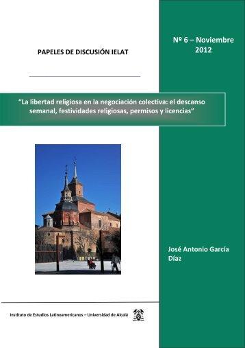 Nº 6 – Noviembre 2012 - ielat