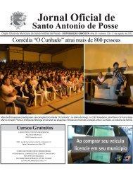 Jornal Oficial de - Santo Antônio de Posse