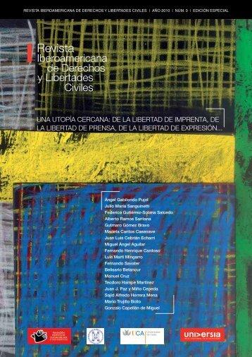 Revista ibeRoameRicana de deRechos y LibeRtades ... - Universia