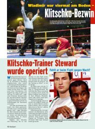 Fehlt er beim Fight gegen Wach? - BoxSport