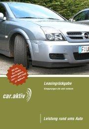 car.aktiv-Leasingrückgabe - Car.aktiv GmbH