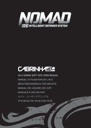 2012 nomad ids™ kite user manual manuel d'utilisation ... - Cabrinha