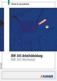 BW 345 Arbeitskleidung BW 345 Workwear