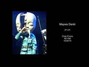 cEvans_maywaDenki - Daniel Sauter