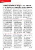 Einkommens- und Sozialpolitik Vorschläge für ... - SGB - CISL - Seite 6