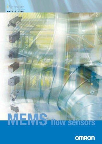 MEMS flow sensors