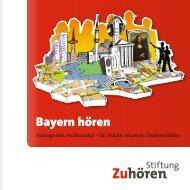 Bayern hören - Stiftung Zuhören