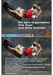 Die agile Organisation: Vom Hype zum Daily Business - Korn AG