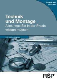 Technik und Montage - RSP