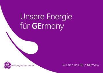 Wir sind das GE in Germany