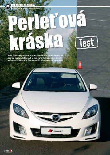 Test: Mazda6 2,5 MZR GTA