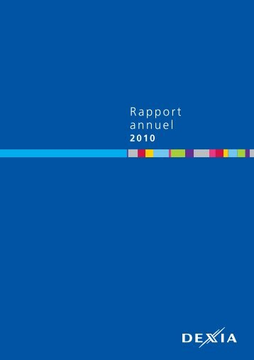 Rapport annuel 2010 - Dexia.com