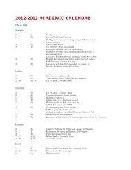2012-2013 ACADEMIC CALENDAR - AUK