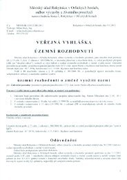 Městský úřad Rokytnice V Orlických horách, odbor výstavby a ...