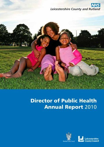 Director of Public Health Annual Report 2010 - NHS