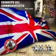 Guida di combattimento - Esercito del Commonwealth - FX Interactive