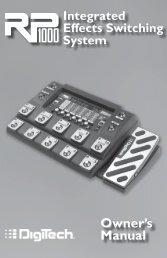 RP1000 Manual - zZounds.com