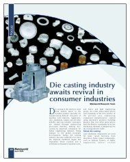 Die casting industry awaits revival in consumer industries