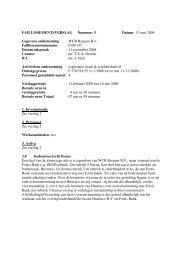 verslag 11 februari 2009 tot en met 10 mei 2009 (pdf; 28 KB)