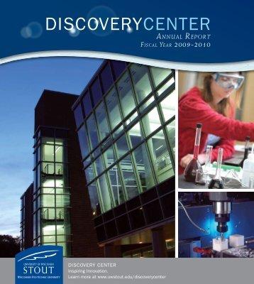 DISCOVERYCENTER - University of Wisconsin-Stout