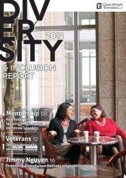 Diversity & Inclusion Report - Davis Wright Tremaine