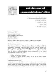 PDF 118 KB - Environmental Defenders Office
