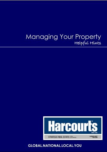 Managing Your Property - Harcourts