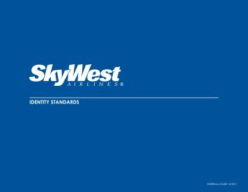 Brand Guidelines - SkyWest Airlines