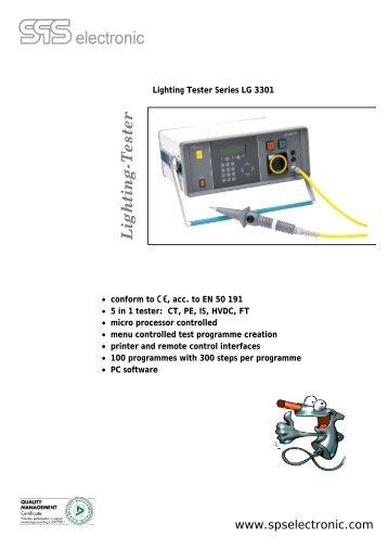 Lighting-Tester - Delta Strumenti S.r.l.