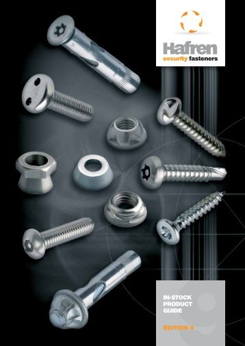 Hafren Security Fixings - F R Scott Ltd