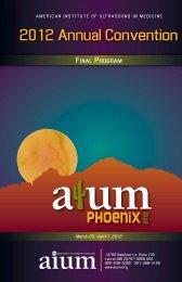 View Final Program - AIUM