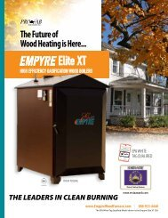 Elite XT - Wood Furnace