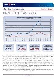OHBI apžvalga 2013 m. kovo mėn. - Ober-Haus