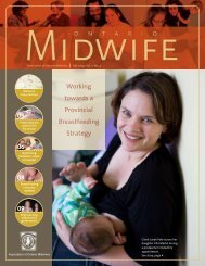 Fall 2009 - Association of Ontario Midwives