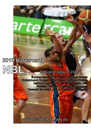 2010 Bartercard NBL Media Guide (Round Four) - Basketball New ...