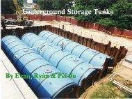 Underwater Storage Tanks