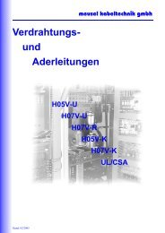 Verdrahtungs - Meusel Kabeltechnik GmbH