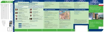 Programm - Umwelttechnik-Cluster