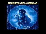 Epigenetica de la obesidad. - Aveso