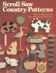 Scroll Saw Country Patterns - Wood Tools