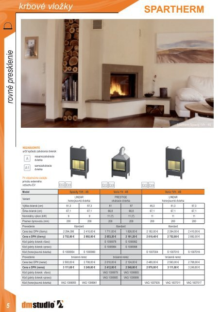SPARTHERM-krbove-vlozky-cennik.pdf - dm studio sro