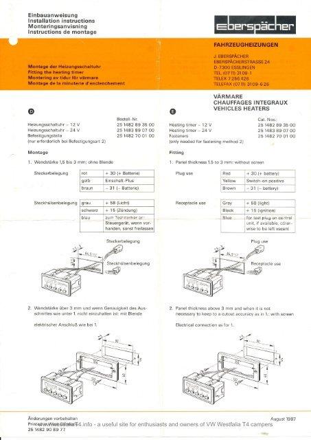 1982 westfalia owners manual pd