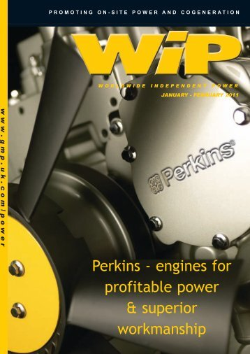 Perkins - engines for profitable power & superior workmanship