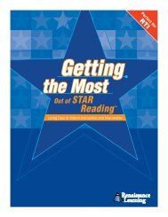 Getting the Most Out of STAR Reading - Sanger Unified School District
