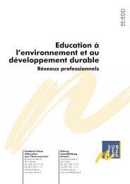 Réseaux professionnels EE/EDD - Education à l'environnement en ...