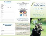 Golf Brochure 2013 - Elder Services of Merrimack Valley