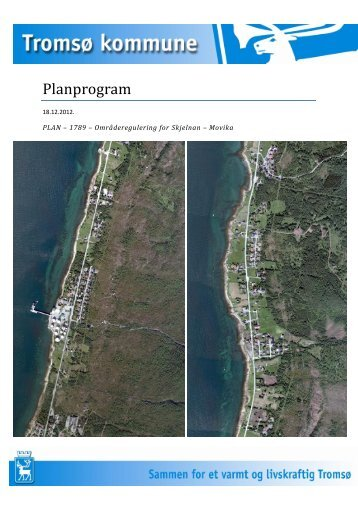Planprogram - Tromsø kommune