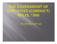 Conduct Rules - HIPA